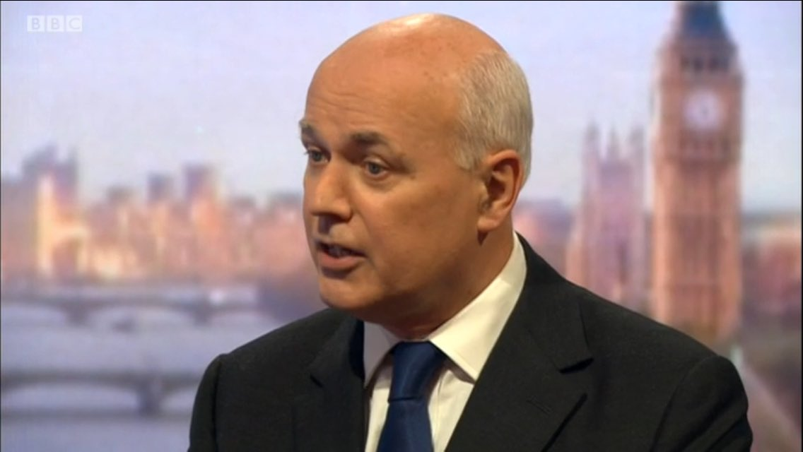 """The £350m was an extrapolation. It was never total."" -Iain Duncan Smith https://t.co/hqAQuXsuLn"