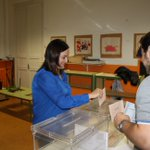 @PabloZalba José Cruz Pérez Lapazarán y @Cristinasanzpna votan en Pamplona https://t.co/tNvR3R7LKO
