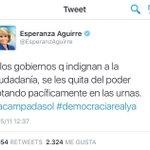Gracias @EsperanzAguirre por el consejo Aquí estamos????.. Ya te echamos a ti nos falta Rajoy.. #UnidosPodemos26J https://t.co/5OrGRnMV9j