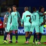 Cest notre fierté cette équipe, à jamais dernière nos joueurs ???????? Força Portugal ????❤️ https://t.co/YoTiuiDdsF