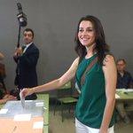 He votado con ilusión por un #CambioaMejor en este país. Feliz #26J #Ciudadanos https://t.co/gwCpyAK7fZ