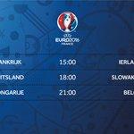 Drie duels op de menukaart. Gastland Frankrijk, wereldkampioen Duitsland & onze Zuiderburen. https://t.co/e0pBjJc1xf https://t.co/dbjItiMvC3