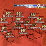 Lots of H2O, breaks in AC if youre out for a while or doing strenuous activity. Heat index is high! @wcpo #CincyWx https://t.co/Q3keipr0b4