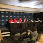 Press conference time for the 2 teams competing for the ultimate prize. #BearDown #StayHot https://t.co/YWPHQvj1SP