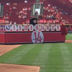 Getting ready for ceremony to retire Pete Roses #Reds uniform No. 14.@Local12 https://t.co/3HrVlceuNr