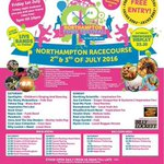 NEXT WEEKEND (2 & 3 JULY): NORTHAMPTON TOWN FESTIVAL at The Racecourse, Northampton https://t.co/sCIKMZXQ0Z