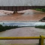 Nivel del río Uribante a la altura de La Morita el día #Ayer @yesnardoc @VielmaEsTachira https://t.co/MrQuWB4p23