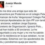 Lo que viene siendo un clásico electoral en Iruñea... excursiones de ancianos patrocinadas por UPN-PP @gukgeuk https://t.co/cQfAv9vvCD