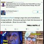Happiness is watching GVPs Seruppadi To #Thaikelavi ???? @AlwaysKNA #GVPNightmareForAjithFans https://t.co/pcFqmA6htL