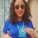 Nuestra compañera Elena Porras de Almaraz como agente electoral en Majadas #JóvenesComoTú https://t.co/KFff2kEEjj