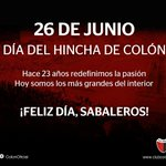 ¡FELIZ DÍA DEL HINCHA DE COLÓN! https://t.co/rN8R3cmiUT https://t.co/n2O9Ljsr5s