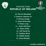 15 minutes to go! Here is your starting team to face #FRA! Believe! #COYBIG https://t.co/6kZl7Vt96C