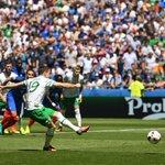 The moment Robbie Brady gave Ireland the dream start! #COYBIG https://t.co/ICdXYPdLdW