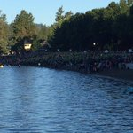 Somewhere in that sea of athletes is @khqstephanie . Good luck to all in CDA. @KHQLocalNews https://t.co/PfxIWwkKsi