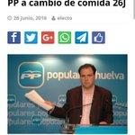 El PP ofrece comida por votos y monjas llevan a ancianos seniles #AVotar #Pucherazo26J #UnidosPodemos26J https://t.co/a4wtNQkAmi