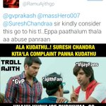 INSECURE AJITH AND INFERIOR FANS https://t.co/oUKXxz0OLh