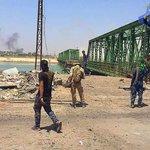 جسر الفلوجة الحديدي الذي لان تحت قبضة #الحشد_الشعبي #علي_مع_الحشد #الفلوجه_بلا_ارهاب #EHS #الحشد_الاعلامي https://t.co/9FPNZbFE7l