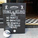 SPOTTED: An Irishman never forgets. #COYBIG #FRAIRL ???? https://t.co/25s2dLkjRj