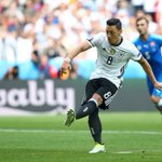 Mesut Ozil is the first Germany player to miss a penalty in a major tournament since Lukas Podolski in the 2010 WC. https://t.co/J9eowglaWG
