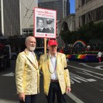Donald Bird, 71, and David Young, 78, celebrating 50 years together this #SFPride #SFPride2016 https://t.co/JIZ2oEVl7t