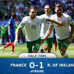 #IRL in dream land at the break. #EURO2016 #FRAIRL https://t.co/5AieU1UdUE