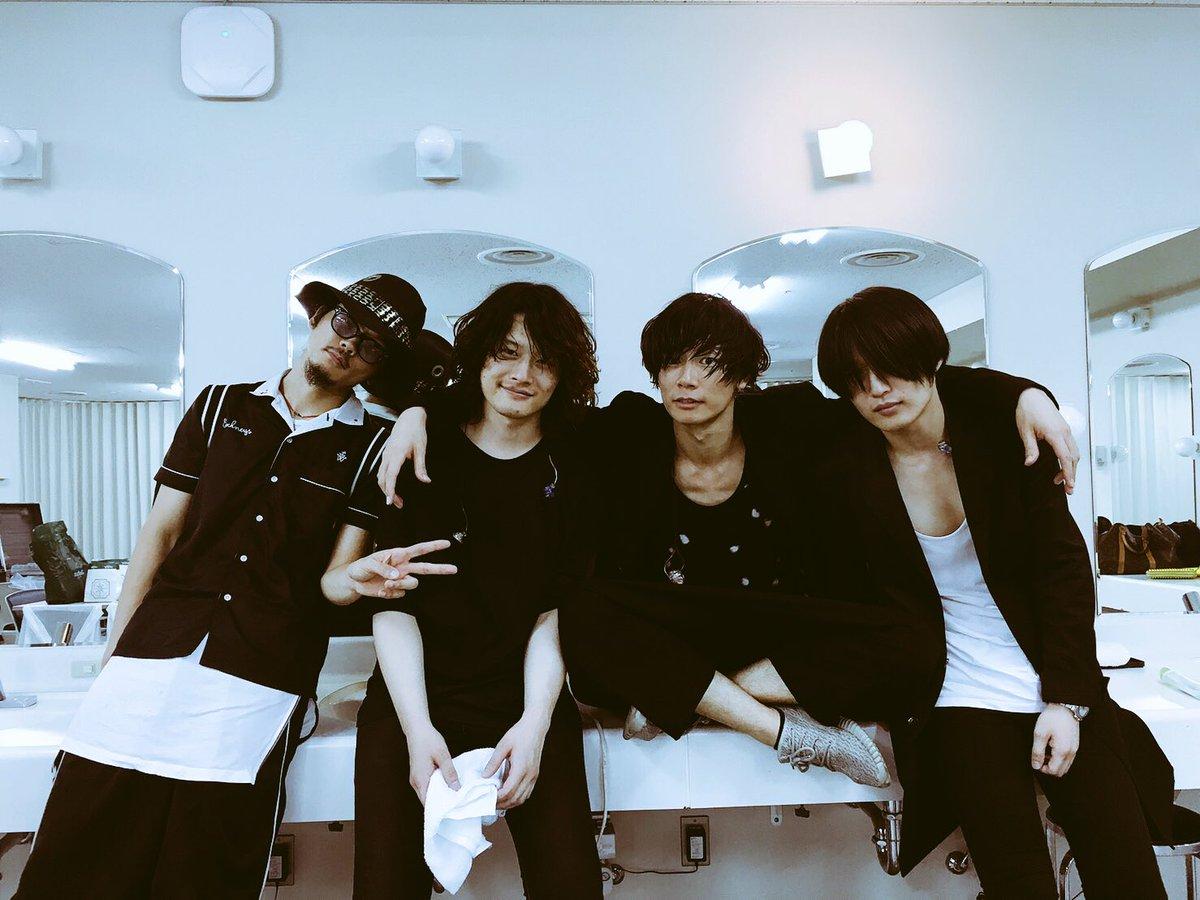 大阪城ホールありがとう。そしてアルバム&ツアーお楽しみに。洋平 https://t.co/hAoBC4j3AA