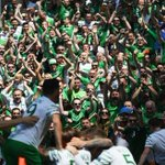 Passion from #IRL players and fans alike ???? #EURO2016 #FRAIRL https://t.co/ebDohXlJMY