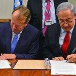 PM Netanyahu & @Cisco Chairman John Chambers signed a memorandum of understandings to advance digitization in Israel https://t.co/ugvLs3RwFc