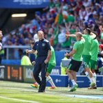 Look at that passion!! Keano can still leap!! @FAIreland #COYBIG #FRAIRL #fra #ireland #euro2016 https://t.co/aKDl6H5rMe