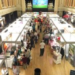 CORK FOOD FAIR: Big turn out today at @CorkKerryFood in Cork City hall! Free in today & tomorrow 12pm to 5pm! https://t.co/HtNCeq3IBD