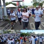 Satisfecha de haber participado en carrera #yovivosindrogas de @PNC_SV ¡Que bueno ver a tantos salvadoreños unidos! https://t.co/gP1kkFfauW