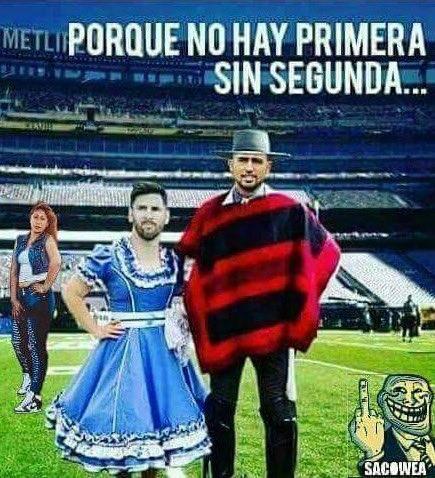 No sean idiotas Jajajajajaja Vamos Chile mierda!!! #VamosChile #ChileVsArgentina https://t.co/dP3lgrOk47
