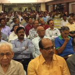 Felt overwhelmed with the response of ex-servicemen on OROP at a meet held in Bhubaneswar. https://t.co/n7XssQTGiw