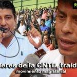@AdrianaHdzVa Ex líderes de la CNTE, traidores al movimiento #Oaxaca #LaPlumaDeOaxaca https://t.co/mlfZuAY6sw https://t.co/noJBZM5P8U