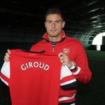On this day in 2012: Arsenal signed Olivier Giroud from Ligue 1 side Montpellier for £13m. #afc https://t.co/PPTIUUS5bF