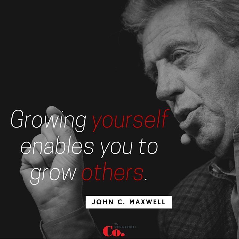 Growing yourself enables you to grow others. @JohnCMaxwell https://t.co/ZS1aKA1gBs