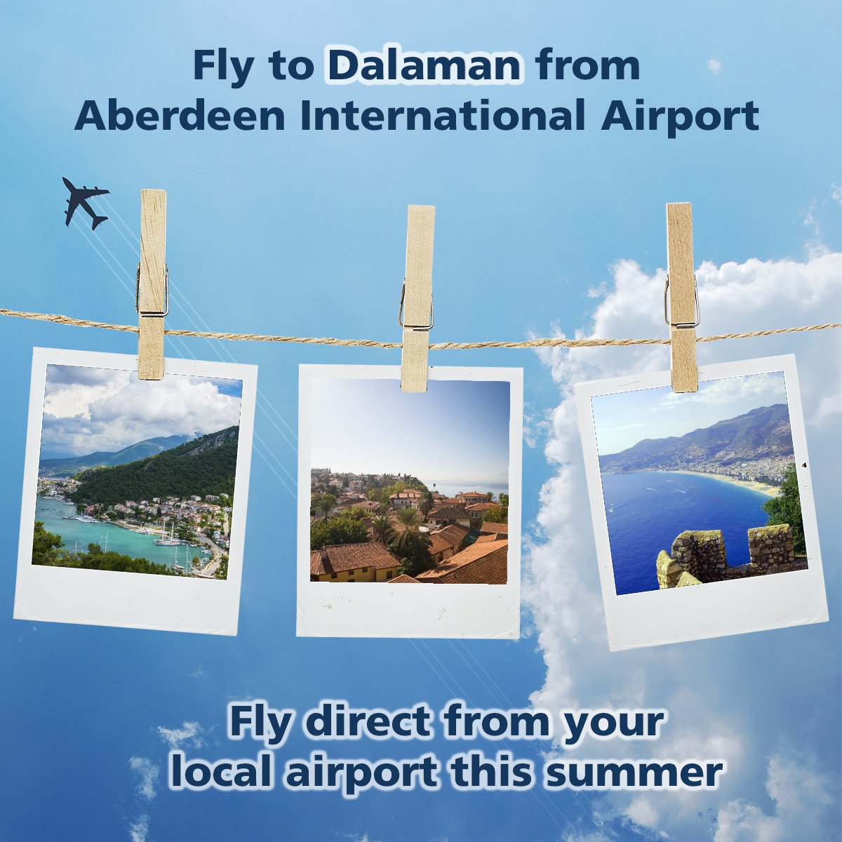 Fly direct to Dalaman from your local airport this summer!