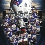 This is a great one! Here is the new @LATechSports @LATechFB schedule poster! Stunning work! https://t.co/qn8UjvPC5J