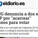 "Denuncian al alcalde de Cabanas, A Coruña del PP por ""acarrear"" ancianos a votar. https://t.co/xbxkWIR99p https://t.co/1fOLIkdIZH"