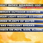 Can you feel the difference today? Temps in the low 90s + high humidity = Heat Index nearing 100°. #Cincinnati https://t.co/cfSAu2oirV