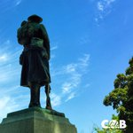 The Burlington Cenotaph. Dedicated in 1922, it now stands beside city hall where its resided since 1962. #BurlON https://t.co/ssIlRCoq1j