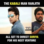 The official confirmation: #Suriya35 with director #Ranjith @Suriya_offl @beemji #மகிழ்ச்சி https://t.co/SFlB15Ogli