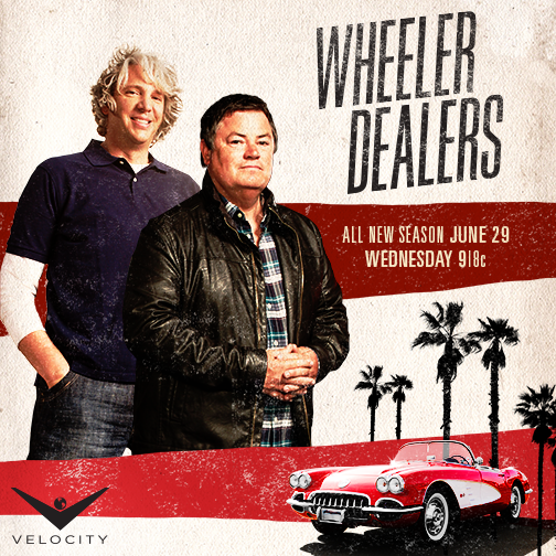 ReTweet if you'll be watching #WheelerDealers on Wednesday! @wheelerdealers @mikebrewer @TheEddChina https://t.co/73Q7XpLa5l