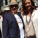 With Attorney General Kamala Harris in San Francisco at the Pride Parade on Sunday. https://t.co/OHGYZ2mvyQ