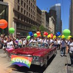 This is how @LeviStraussCo does #SFPRIDE #Pride2016 https://t.co/xiS2zhmAnM