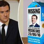 Call the police #WheresGeorge goes viral after Chancellor Osborne vanishes post-Brexit >>https://t.co/XLtCInoa9D https://t.co/o0VZigoxkz