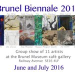 #exhibition #Rotherhithe #London Brunel Biennale 2016 Free entry from 10am until 5pm https://t.co/gWFJNpdrJq