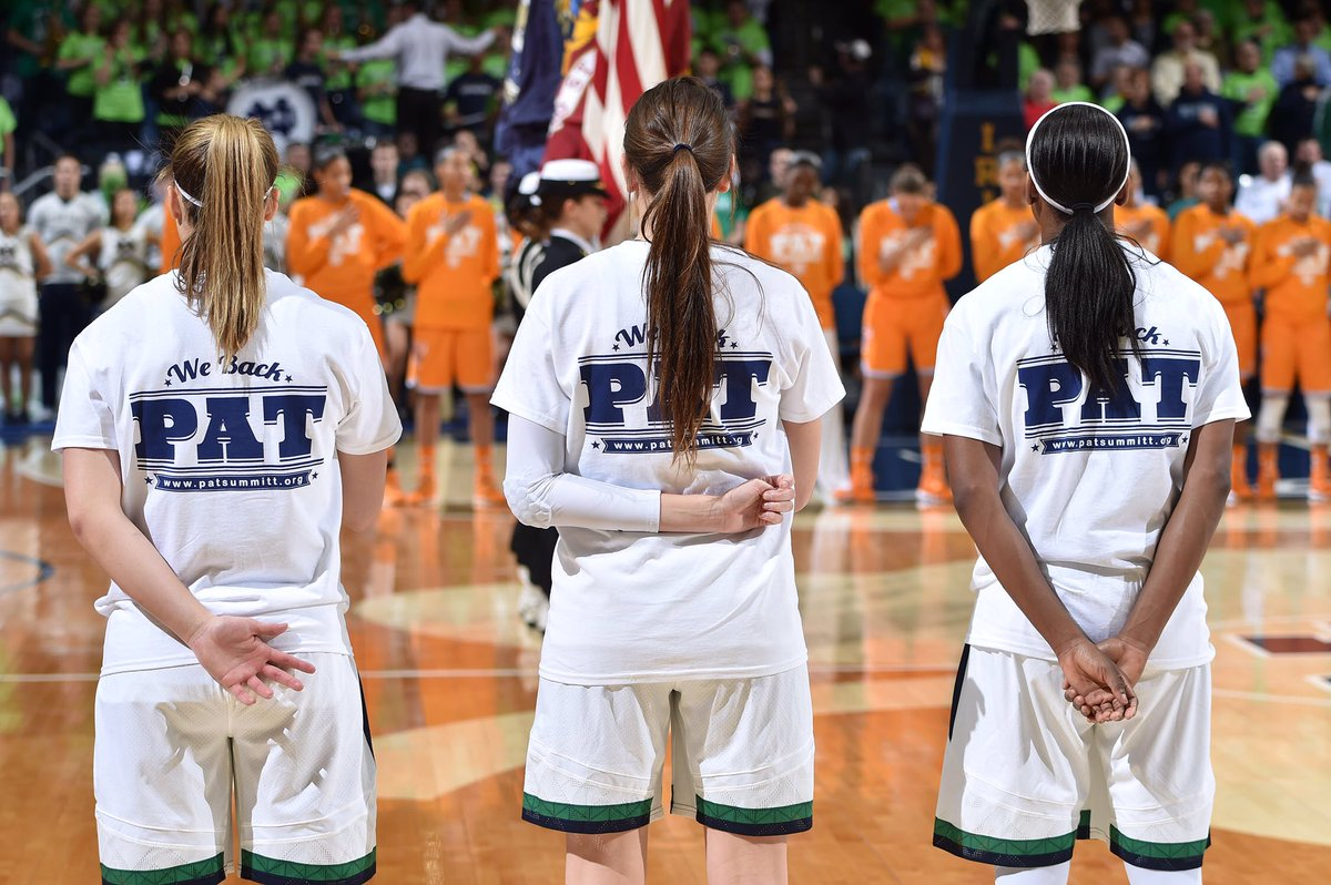 Our thoughts and prayers are with @patsummitt and the @LadyVol_Hoops family.   #PrayForPat https://t.co/naaxhWPInR