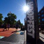 A beautiful morning for Championship Sunday at @SpokaneHoopfest. #Hoopfest2016 #Spokane https://t.co/jnm3Qo4jYY