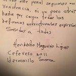 Según se  aprecia en cartas de Rubén Nuñez, Los principales interesados en el movimiento son AMLO y MORENA. https://t.co/EhAc0IMR99